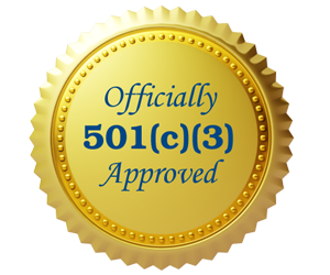 Officially 501c3 Approved